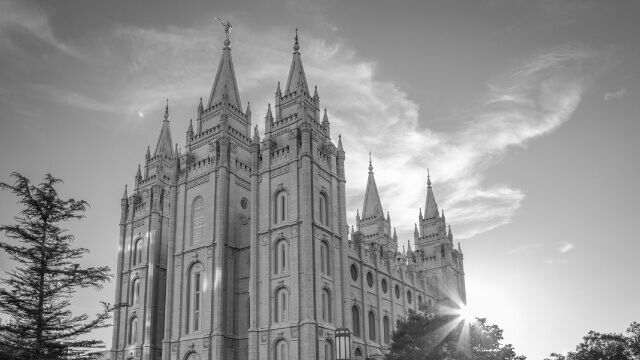 Mormon Temples chapels differences 3 Infographic