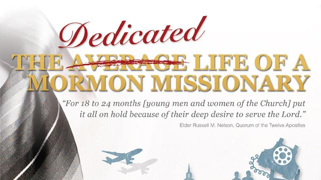 Mormon missionary service Infographics