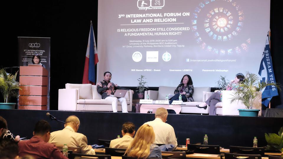 BYU, UP, PCID Hold 3rd International Forum on Law and Religion
