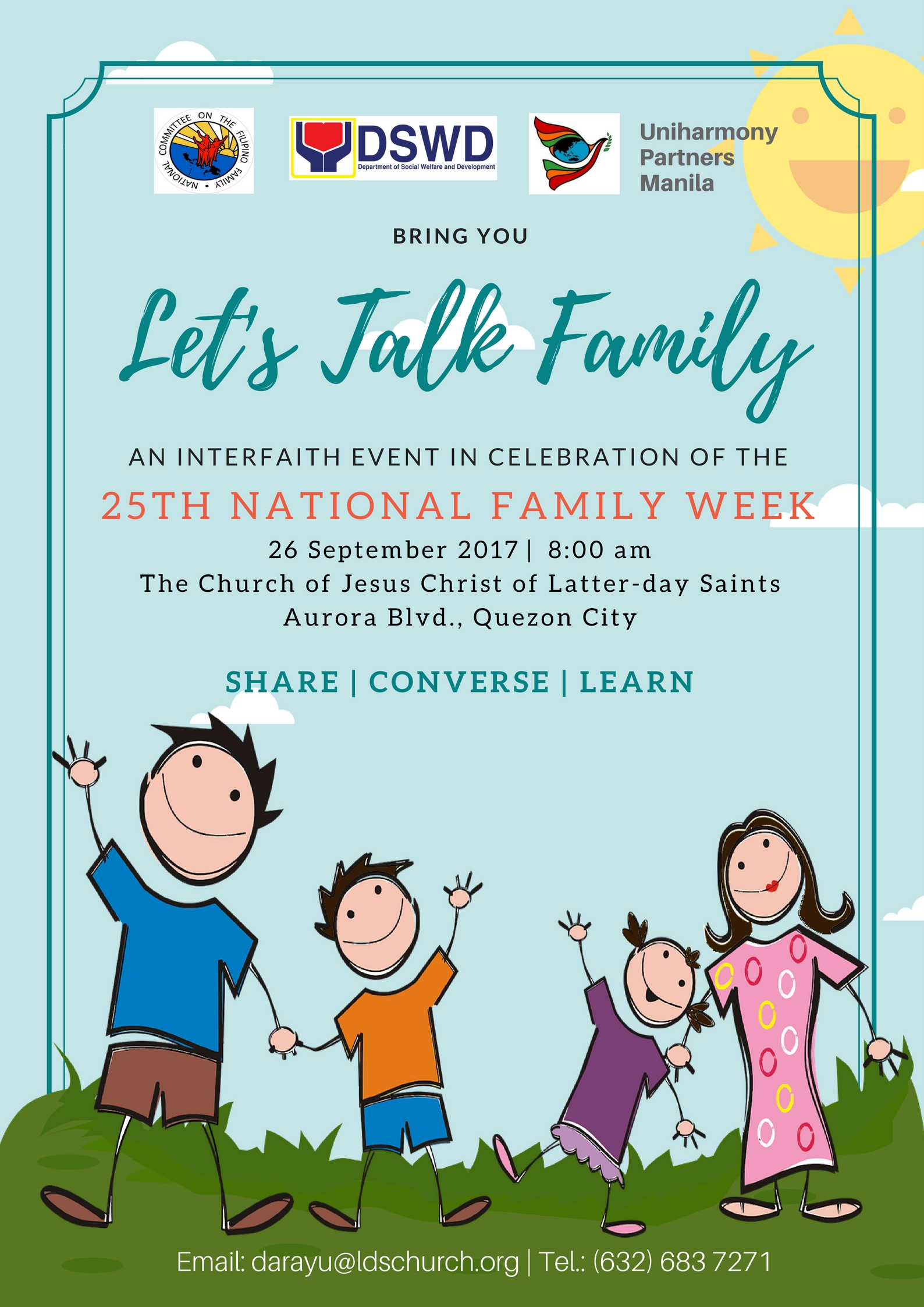 church celebrates 25th national family week